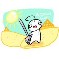 Desert Fork - Cry by MimiMarieT