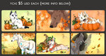 Ych Buys: Fall Themed (COMPLETE) by Aminirus