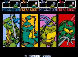 New TMNT Arcade by 2ndCityCrusader