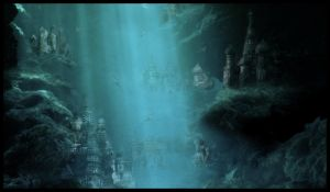 Underwater City by TiffanySketches