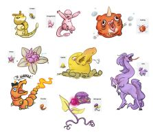 Pokemon Fusions 2 by french-teapot