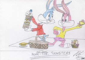 Picnic Time Toonsters by MortenEng21