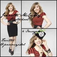 Jennette McCurdy Christmas Photoshoot by EBELULAEDITIONS