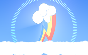 Rainbow Dash: Head in the Clouds by Lextsy