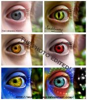 Edited eye! by Munchkinmay
