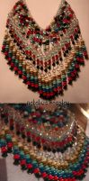 Tribal-esque Necklace by Natalie526