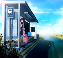 A trip to nowhere. by weixi