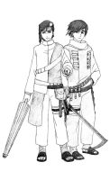 nwc - ame brothers by ikeda