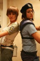 Rebecca and Jill by BrittanyRoseCosplay