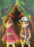 Mabel and Dipper by Jaskierka