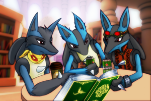 Reading Club XD by taishi-umi