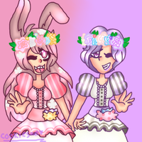 Cherry and Blossom - Afterlife by tara1123