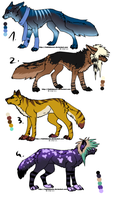 CLOSED - Canines Adoptables 181 by LeaAdoptables