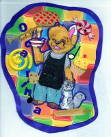 Colorful Badge by milleniumocarina