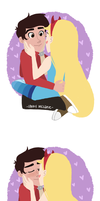 First Kiss by Leneeh