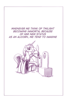 Unintentionally Spreading Happiness, Part 1 by MoonlitBrush
