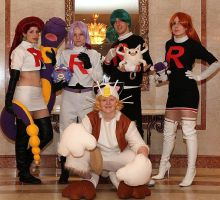 Team Rocket by JustPeachyCosplay