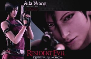 RE ORC Ada Wong Wallpaper for MikiSweetSoul by Kijuju8