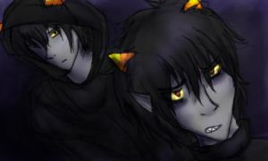 Karkat and The Signless by JediMasterQuill
