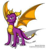 _:Spyro:_ by Crash-Fan3210