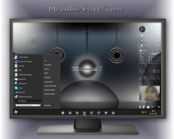 Metallic Dark 7ven - My Current Windows Desktop by rvc-2011