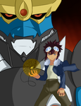 Daisuke and Imperialdramon by Brendan-Mudk