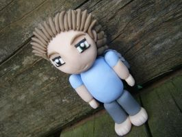 Able from Subsapien Polymer Clay Chibi (Angled) by LadyElasa