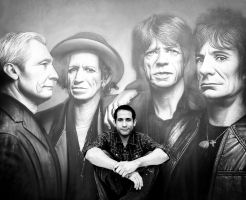 the rolling stones by kamalky