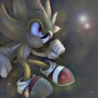 Super Sonic - Utopian Lights by ScaraMini13