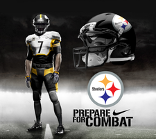 Pittsburgh Steelers Away by DrunkenMoonkey