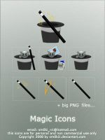 Magic icons by sm0kiii