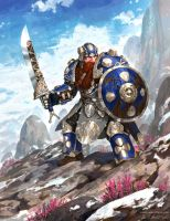 Dwarf Warrior by Vablo