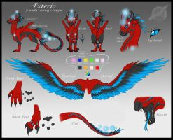 Exterio feral reference sheet by shorty-antics-27