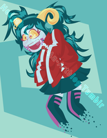 KagerouStuck Aradia by XTiMe-WaRpEdX