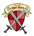 A Royal March (art jam logo) by Granitoons
