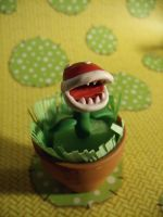 Piranha Plant Figure by CynicalSniper
