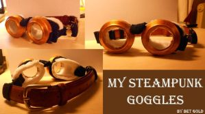 My Steampunk Goggles by BETGOLD