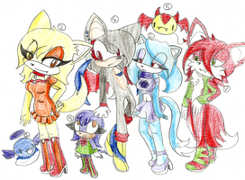 Sonic 7 fan charas Adoptables :CLOSED: by Shadow-Kiz