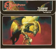 Q The Winged Serpent Trapper Keeper by Hartter