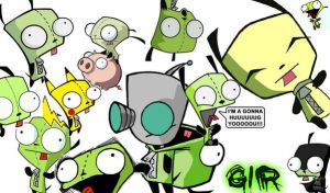 Gir Wallpaper by BearFox342