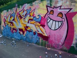Number Zwei by SUREGRAFFITI