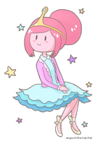GIF: Princess Bubblegum by ange-of-the-top-hat