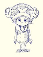 Chopper doodle by SarahSoak