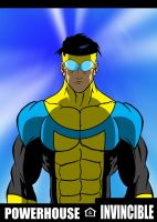 Invincible is a Powerhouse by RODCOM1000
