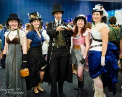 Steampunk Group by Indefinitefotography