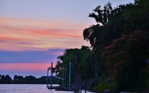 Periwinkle Sunset by Marilyn958