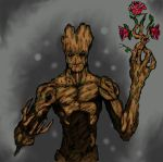 Groot colored by json3