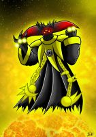 Sinestro corps Black Doom by Berty-J-A