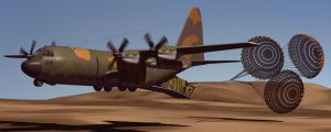 Hercules C-130 LAPES by Emigepa