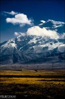 Tibetan High Plateau II by FelixTo